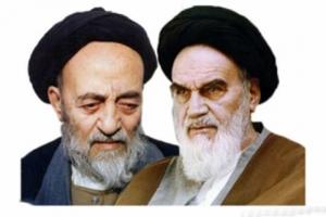امام خمینی (ره) - علامه طباطبایی
