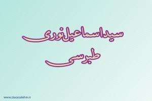 سیداسماعیل نوری طبرسی,عالم دینی,عالم ربانی,گنجینه تصاویر ضیاءالصالحین