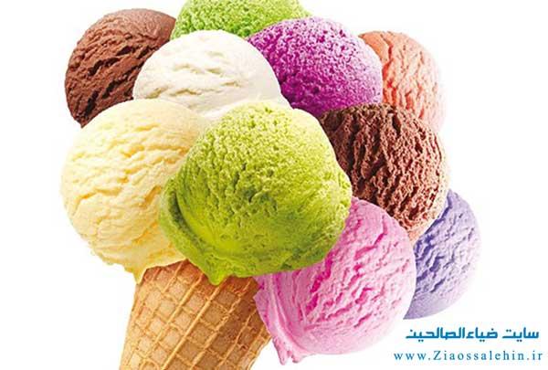 دستورالعمل های ساده برای تهیه بستنی در یخچال