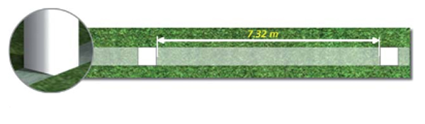 اندازه دروازه فوتبال