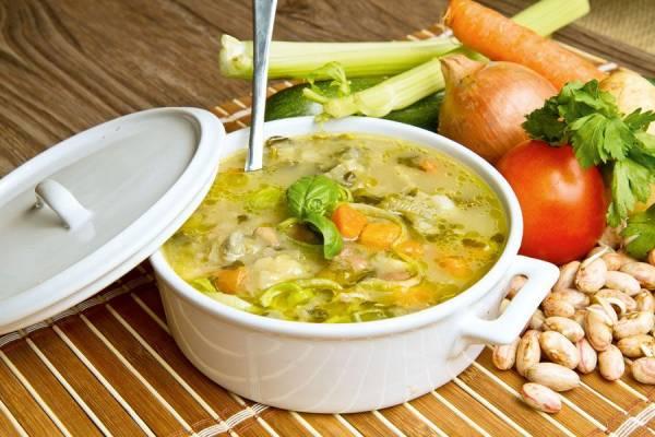 روش پخت سوپ سبزیجات با پاستا ، سوپ سبزیجات