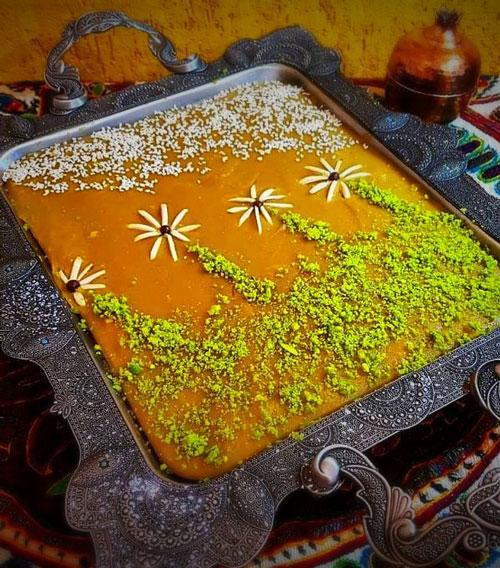 دستور پخت حلوای ساده