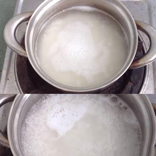 برنج پخته شده برای شله زرد،میزان لازم برنج در شله زرد