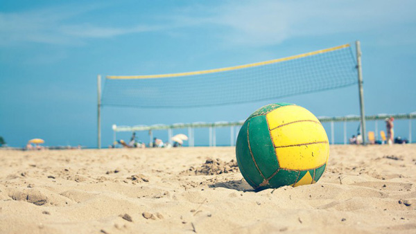 توپ والیبال ساحلی