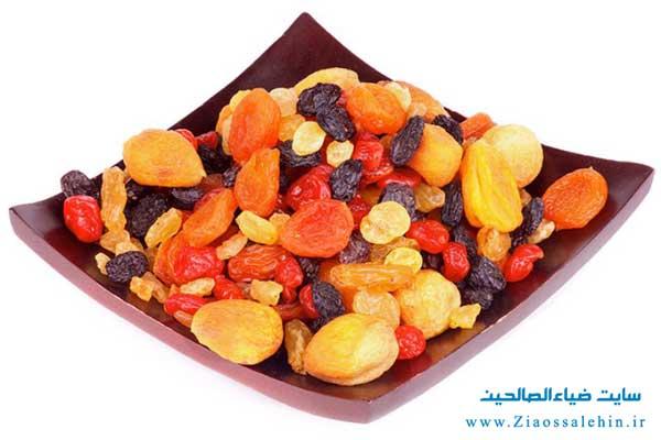 فواید قرار دادن میوه های خشک در برنامه غذایی نوزادان - رفع مشکل کم خونی نوزادان با مصرف میوه های خشک