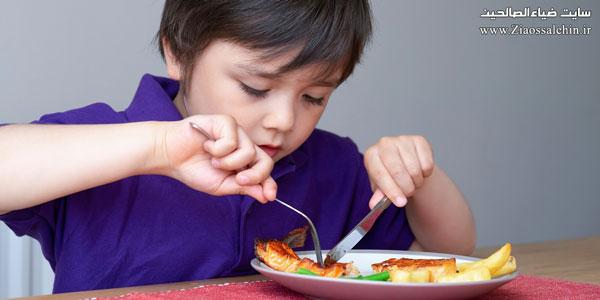 غذای دریایی امن برای تغذیه نوزادان