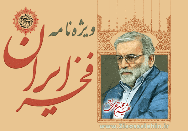 ویژه نامه فخر ایران - شهید محسن فخری زاده