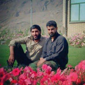 شهید حاج قاسم سلیمانی و شهید کاظمی