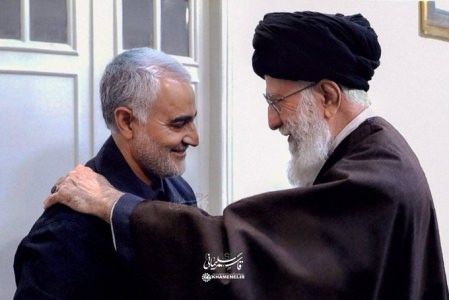 سردار شهید حاج قاسم سلیمانی - رهبر معظم انقلاب