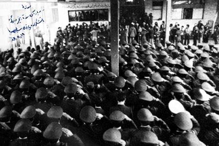 دیدار همافران با رهبر انقلاب