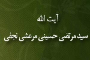 آیت الله سیدمرتضی حسینی مرعشی نجفی