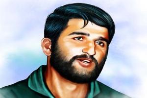 خلبان شهید علی اکبر شیرودی(گنجینه تصاویر ضیاءالصالحین)