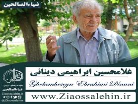 دکتر غلامحسین ابراهیمی دینانی