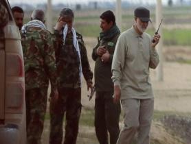 مکالمات سردار سلیمانیپشت بی سیم در منطقه نظامی