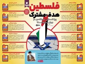 اینفوگرافیک فلسطین هدف مشترک