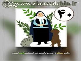 کارگاه انصاف استاد محمد شجاعی/ قسمت 40 - انصاف در مورد حیوانات